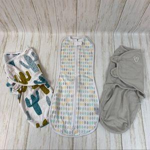 4 Newborn Swaddles/Sleep Sack